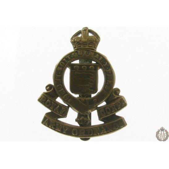 1I/086 - Royal Army Ordnance Corps RAOC Cap Badge