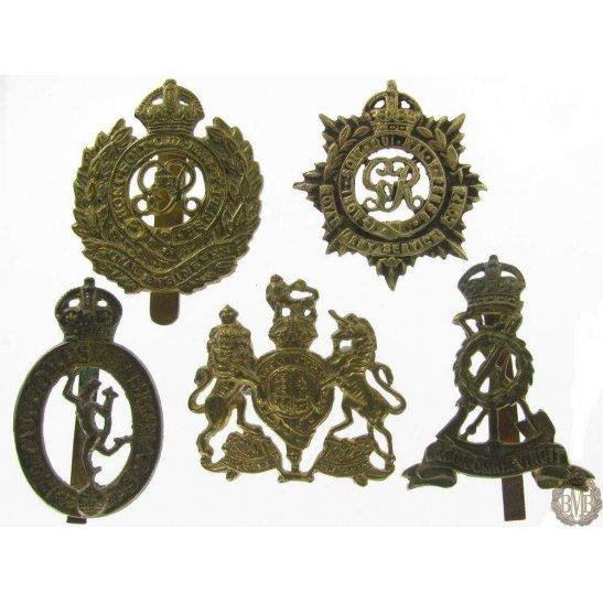 1I/096 - x5 Indian Bazaar Copy Cap Badges