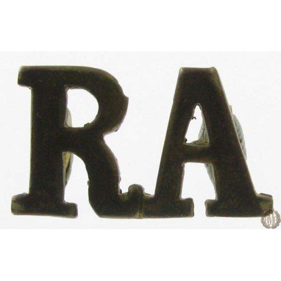 1I/130 - Royal Artillery RA Shoulder Title