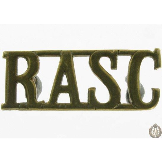 1I/136 - Royal Army Service Corps RASC Shoulder Title