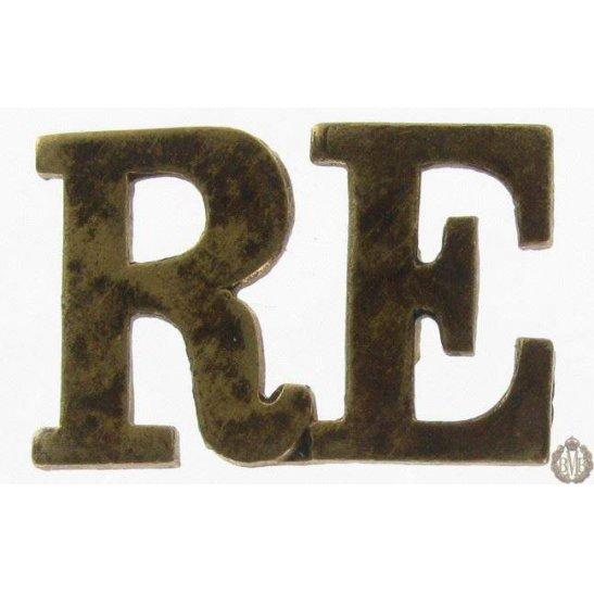 1I/137 - Royal Engineers RE Shoulder Title
