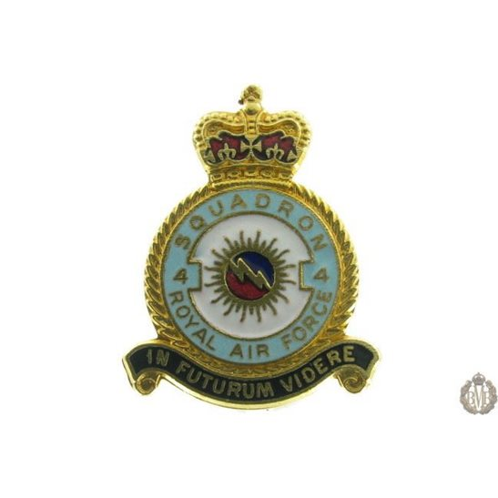 4 Squadron Royal Air Force Lapel Badge RAF