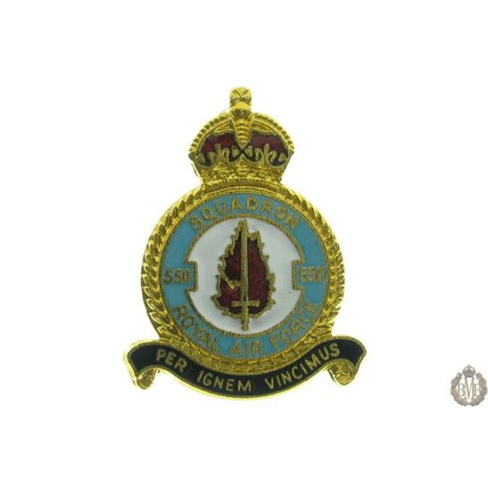 additional image for 8 (VIII) Squadron Royal Air Force Lapel Badge RAF