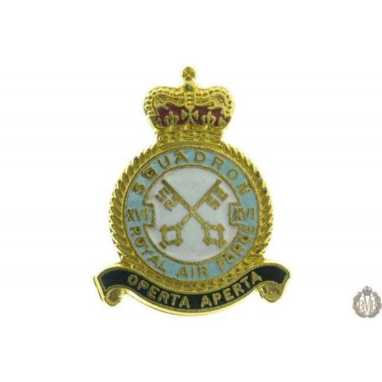 16 (XVI) Squadron Royal Air Force Lapel Badge RAF