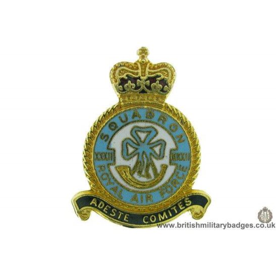 32 (XXXII) Squadron Royal Air Force Lapel Badge RAF