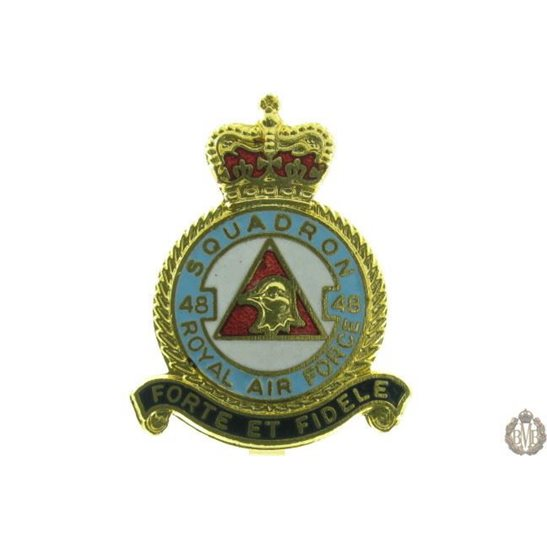 48 Squadron Royal Air Force Lapel Badge RAF