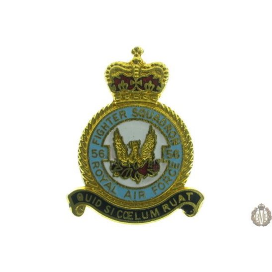 56 Squadron Royal Air Force Lapel Badge RAF