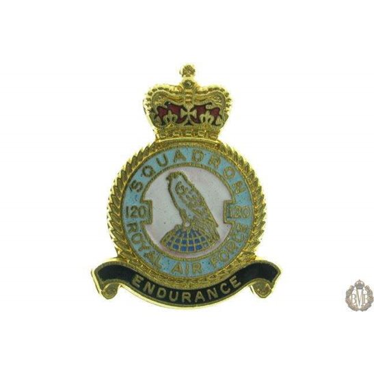 120 Squadron Royal Air Force Lapel Badge RAF