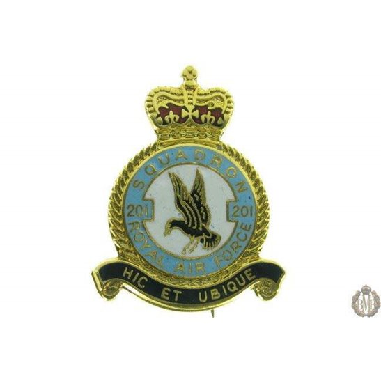 201 Squadron Royal Air Force Lapel Badge RAF