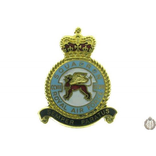 207 Squadron Royal Air Force Lapel Badge RAF