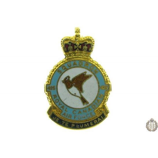 425 Squadron Royal Canadian Air Force Lapel Badge RCAF