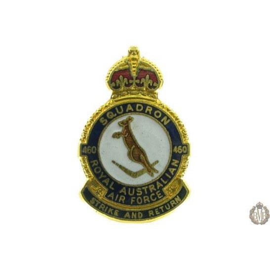 460 Squadron Royal Australian Air Force Lapel Badge