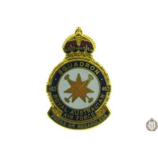 463 Squadron Royal Australian Air Force Lapel Badge