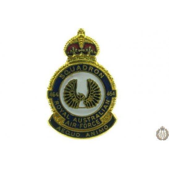 464 Squadron Royal Australian Air Force Lapel Badge