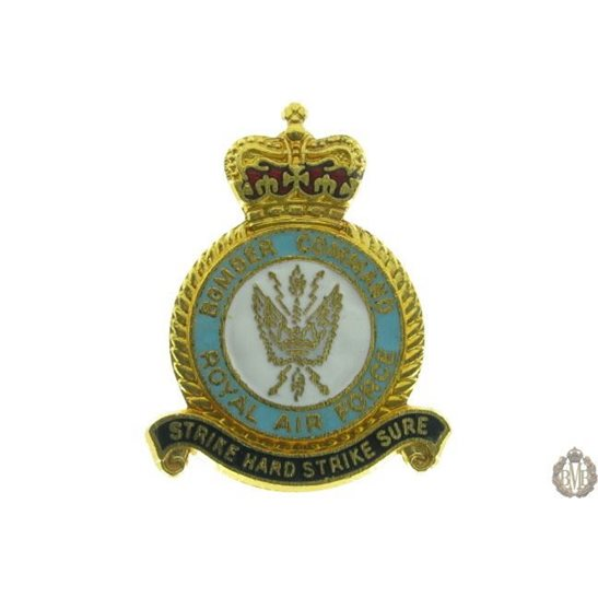 Bomber Command Royal Air Force RAF Lapel Badge