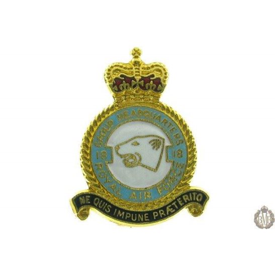 18 Group Headquarters Royal Air Force RAF Lapel Badge