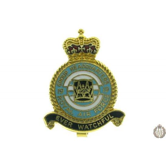 19 Group Headquarters Royal Air Force RAF Lapel Badge