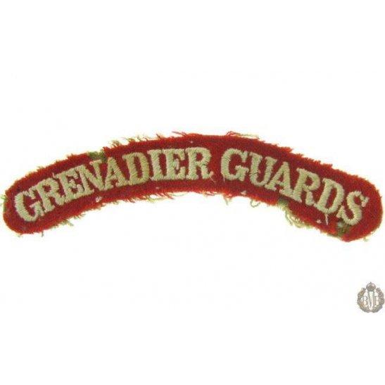 1I/141 - Grenadier Guards Regiment Cloth Shoulder Title