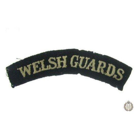 1I/142 - Welsh Guards Regiment Cloth Shoulder Title