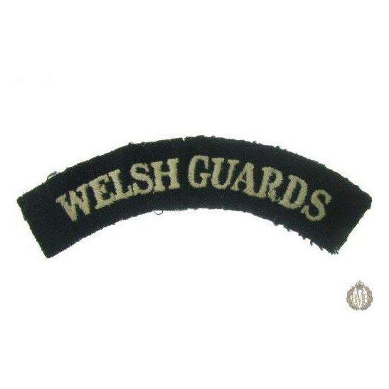 1I/150 - Welsh Guards Regiment Cloth Shoulder Title