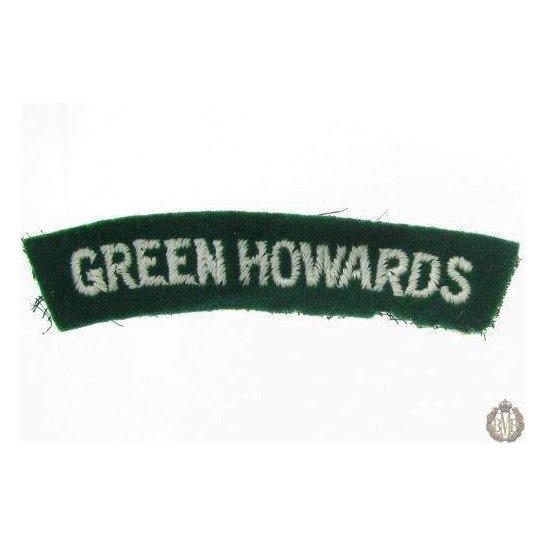 1I/171 - The Green Howards Regiment Cloth Shoulder Title