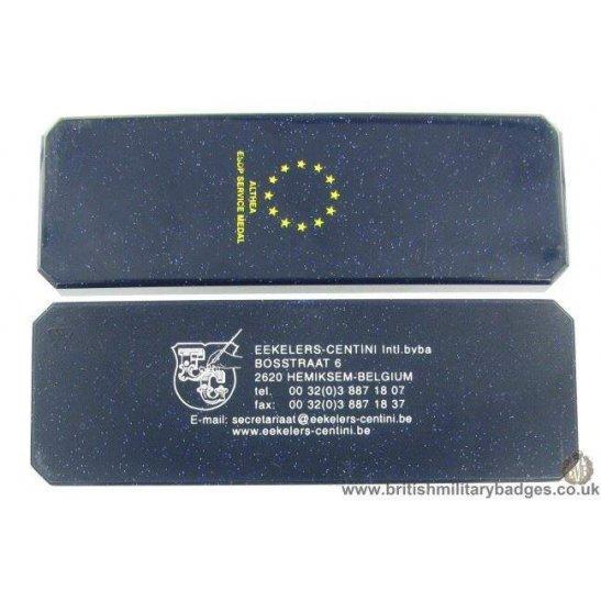 N1A/81 - European Union Althea ESDP Service Medal Issue Box Case