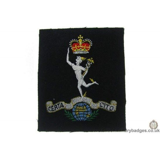 R1A/01 - Royal Corps of Signals RCOS Blazer Badge