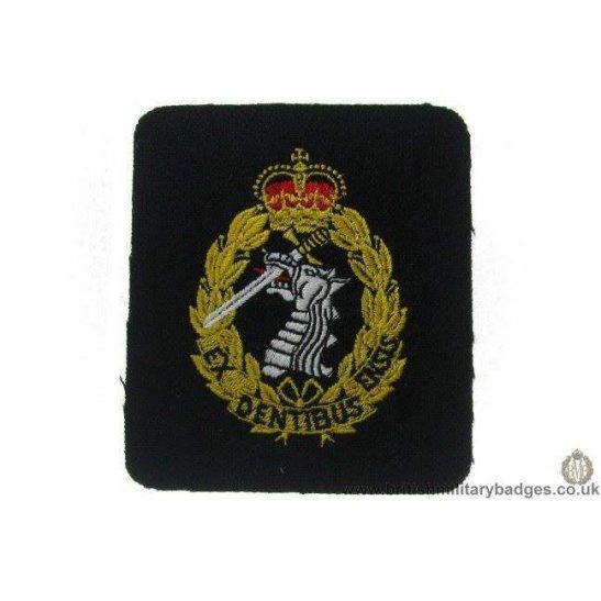 R1A/02 - Royal Army Dental / Dentist Corps RADC Blazer Badge