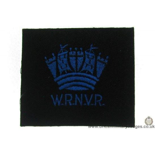 R1A/10 - Women's Royal Navy Volunteer Reserve WRNVR Blazer Badge