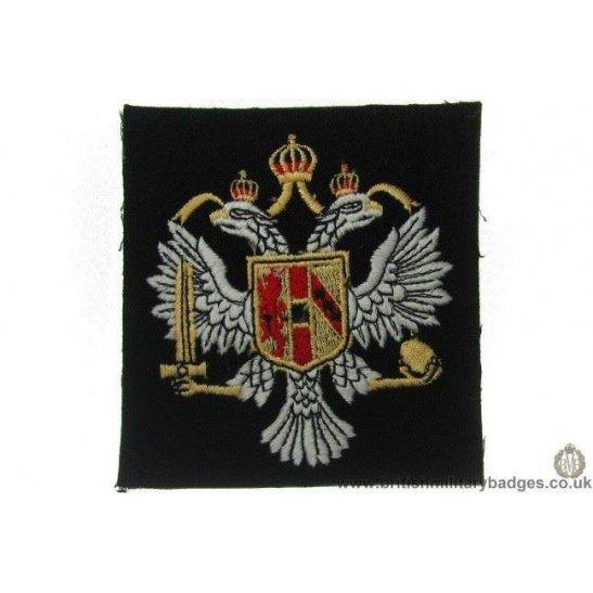R1A/12 - 3rd Carabiniers Regiment Blazer Badge