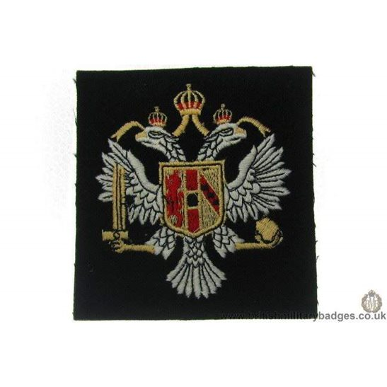 R1A/29 - 3rd Carabiniers Regiment Blazer Badge