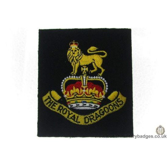 R1A/31 - The Royal Dragoons Regiment Blazer Badge