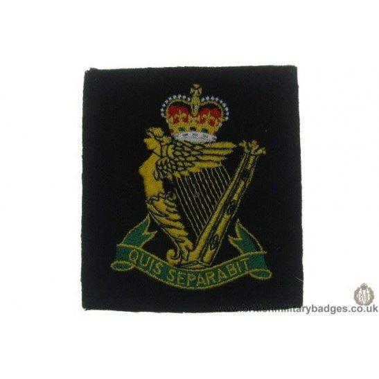 R1A/35 - Royal Irish Rifles Regiment Blazer Badge