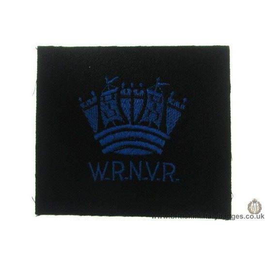 R1A/40 - Women's Royal Navy Volunteer Reserve WRNVR Blazer Badge