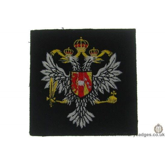 R1A/45 - 3rd Carabiniers Regiment Blazer Badge