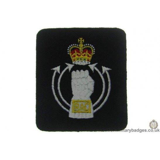 R1A/50 - Royal Armoured Corps RAC Blazer Badge