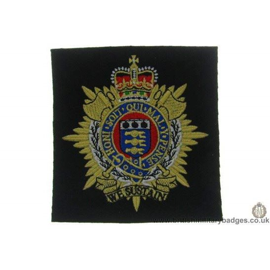 R1A/51 - Royal Logistics Corps RLC Blazer Badge