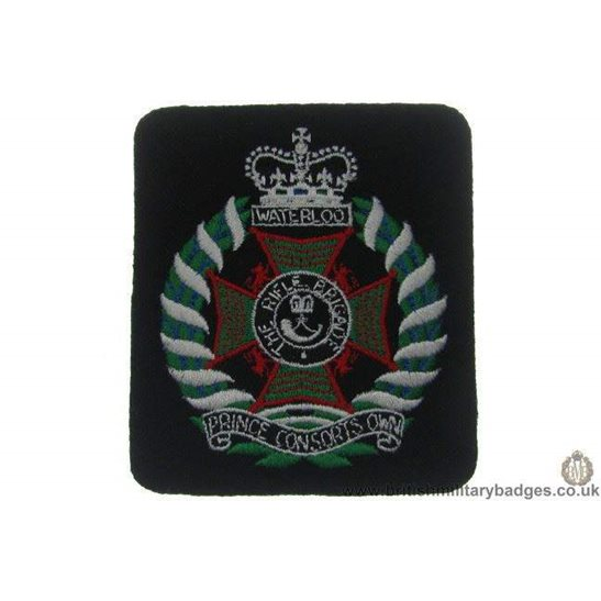 R1A/53 - The Rifle Brigade Regiment Blazer Badge