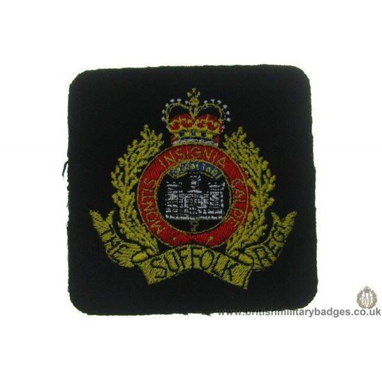 R1A/55 - The Suffolk Regiment Blazer Badge