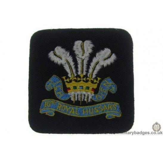 R1A/66 - 10th Royal Hussars Regiment Blazer Badge