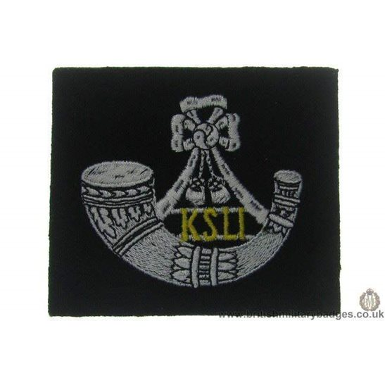 R1A/70  King's Shropshire Light Infantry KSLI Kings Blazer Badge