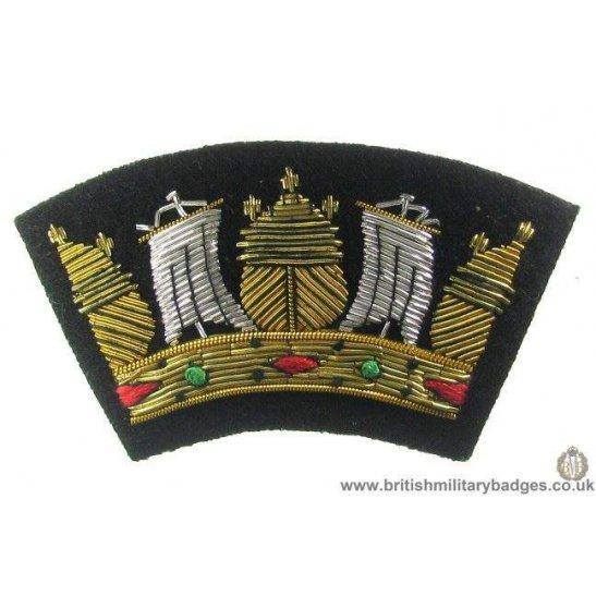 R1A/81 - Merchant Navy Blazer Badge