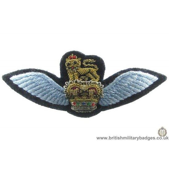 R1A/85 - Royal Air Force RAF Blazer Badge