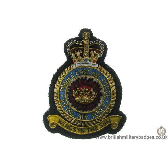 R1A/89 - Royal Air Force Middle East Squadron RAF Blazer Badge
