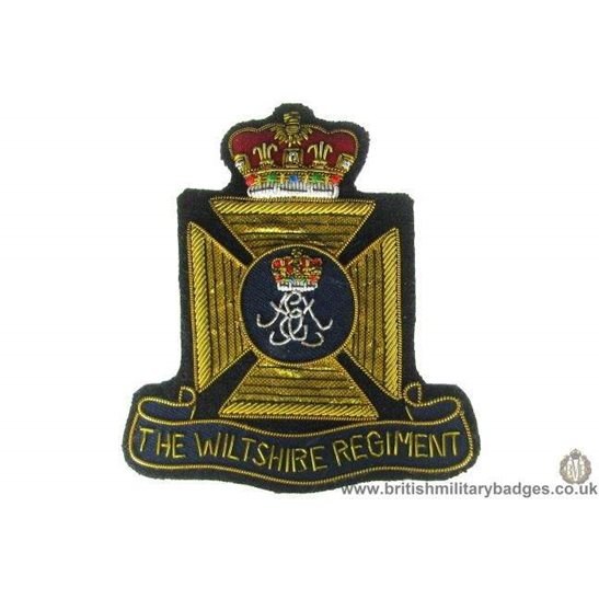 R1A/98 - The Wiltshire Regiment Blazer Badge