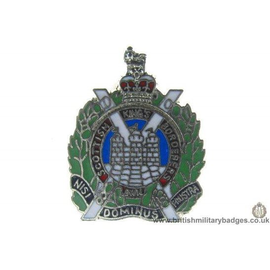 S1A/01 - Kings Own Scottish Borderers Regiment Lapel Badge