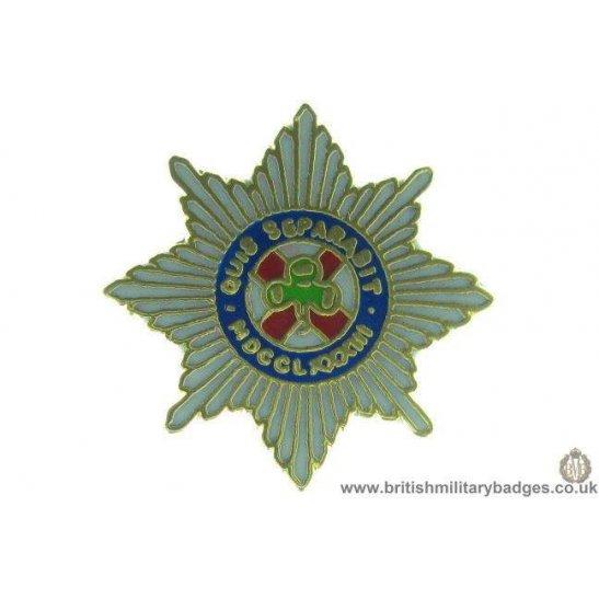 S1A/03 - 4th/ 7th Dragoon Guards Regiment Lapel Badge