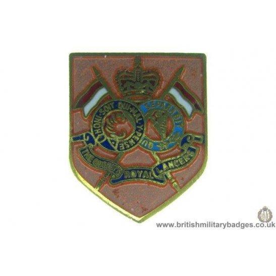 S1A/09 - The Queens Royal Lancers Regiment Lapel Badge