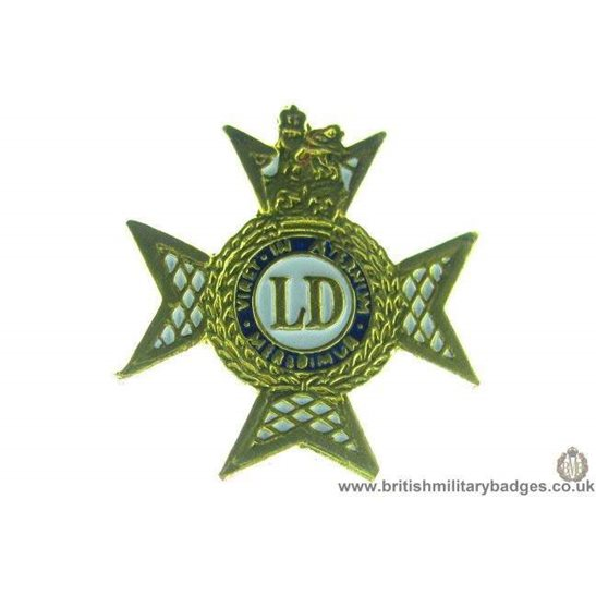 S1A/10 - The Light Dragoons Regiment Lapel Badge