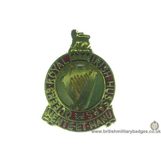 S1A/14 - Queens Royal Irish Hussars Regiment Lapel Badge